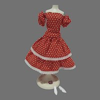Vintage 11 1/2 Inch Fashion Doll Clone Outfit, 1960's