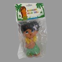 Vintage Big Eyed Hawaiian Hula Doll, 1960's ,NRFP