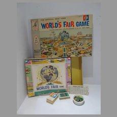 Milton Bradley New York World's Fair Board Game, 1963, Complete