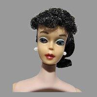VIntage 1961 Mattel Black Hair Pony Tail Barbie, All Orig.