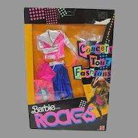 Mattel Barbie Rockers Concert Tour Fashions, NRFB, 1986