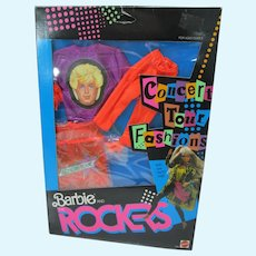 NRFB Mattel Barbie and the Rockers Concert Tour Outfit, 1986