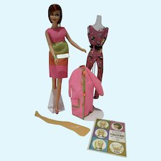 Rare Mattel Casey Goes Casual Gift Set, Sears Exclusive, 1967