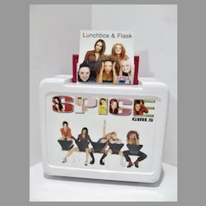Nit Un-used Spice Girls Spiceworld Lunch Box w/Thermos, 1997