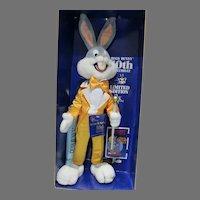 NRFB Bugs Bunny 50th Birthday Ltd Ed. Plush Doll, 1990