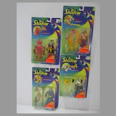 Kenner The Shadow Action Figures, 1994, Set of Four, MOC