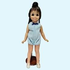Vintage Ideal Mia Growing Hair Doll, 1971