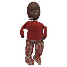 Rare African American Sleepy Baby Doll, Shackman, 1958-9
