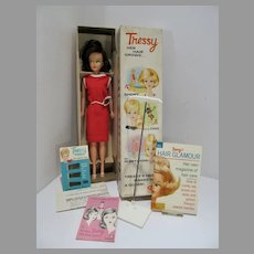 MIB American Character Tressy Doll w/Extra's 1960's