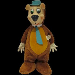 Knickerbocker Plush Yogi Bear (Huckleberry Hound) Doll, 1959