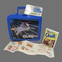 Vintage 1992 G.I Joe Aladdin Lunch Box&Thermos, Never Used