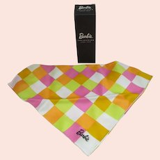 Barbie Collection Polished Cotton Scarf, MIB