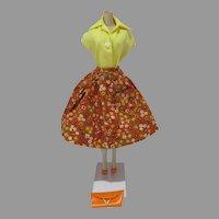 Vintage Mattel Barbie Outfit, Country Fair, 1964, Complete