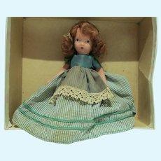 Nancy Ann Story Book Bisque Doll #161, Variation, 1940's