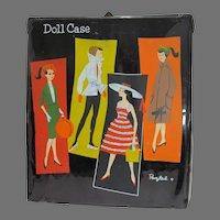 Rare Clone Doll Ponytail Fashion Doll Case, 1960's