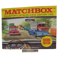 Vintage 1969 Matchbox Collector's Catalog, USA 1969 Second Ed.