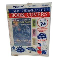 Official 1964-65 New York World's Fair Book Covers Still Sealed