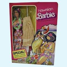 NRFB Hawaiian Barbie Dept. Store Special, Mattel 1975