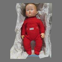 Vintage 1950's Nitey Nite Baby Boy Doll w/Original Box, Rare