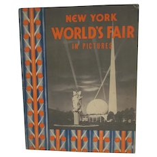 Vintage 1939 New York World's Fair in Pictures Book