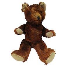 Vintage Mohair Jointed Teddy Bear
