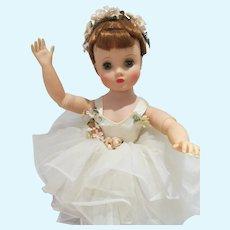 Beautiful Madame Alexander Elise Ballerina Doll, 1950's