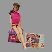 Vintage Mattel Talking Barbie, 1968 w/Accessories
