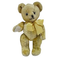 Vintage 1950's Jointed Mohair Teddy Bear, Adorable