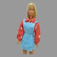 VIntage Mattel Malibu Barbie in Sport Star, 1971-72