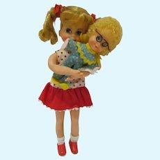 Vintage Mattel Buffy & Mrs. Beasley Doll, 1968