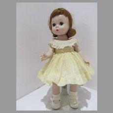 Charming 1950's Madame Alexander Wendy in Tagged Party Dress