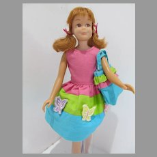Vintage Mattel Skooter Doll is Country Picnic 1966
