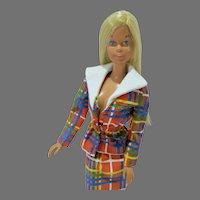 Vintage Mattel 1971 Malibu Barbie in 1974 Best Buy Outfit