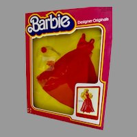 NRFB Barbie Designer Originals, Paint The Town Red, Mattel, 1979, Old Store Stock