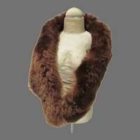 Vintage Fur Stole for Cissy Doll, 1950's