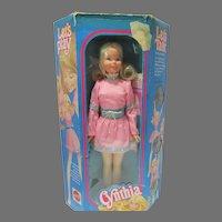 "MIB Cynthia 19"" Fashion Doll, Mattel, 1972, Talks!"