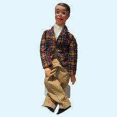 Juro Danny O'Day/Jimmy Nelson Ventriloquist Doll, 1964 w/Box