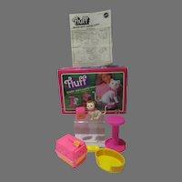 MIB Mattel Barbie Doll's cuddly kitten, Fluff, 1982