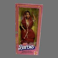 Vintage NRFB India Barbie, Mattel 1981