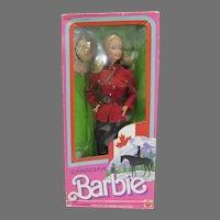 NRFB Mattel Canadian Barbie, 1987