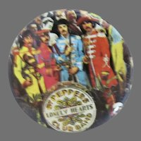 Beatles Vintage Sargent Peppers Pin Back Button