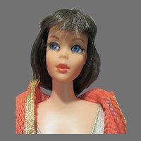 Vintage Mattel Dramatic New Living Barbie, Brunette, 1970