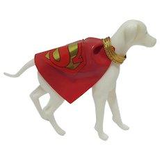 Rare Captain Action Superman's Dog, Krypto, 1960's, Ideal