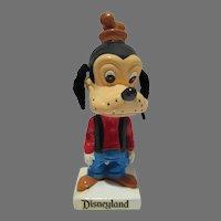 Rare Disneyland Vintage Goofy Bobblehead, Japan, 1960's