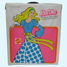 VIntage Mattel Vinyl Barbie Case, 1975 Superstar Era