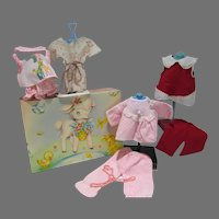 Vintage 1960's Doll  Clothing