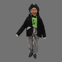 """VIntage Mego Wizard of Oz 8"""" Action Figure, The Wizard, 1974"""