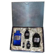 Vintage Evening In Paris Perfume Gift Set, MIB, 1950's