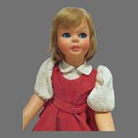 "Beautiful 15"" Bonomi Italian Girl Doll, Flirty Eyes, All Orig, 1960"