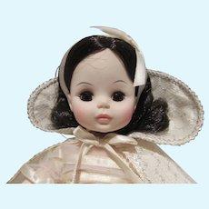 """VIntage Madame Alexander 13"""" Snow White w/Tag, 1970's"""
